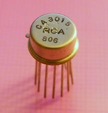 2x CA3015 Wideband Operational Amplifier, RCA