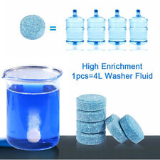 10pcs Car Solid Wiper Effervescent Tablet Cleaner Auto Windshield Glass Cleaning
