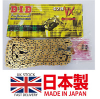 DID X-Ring Gold Motorcycle Drive Chain 428VX 428 VX 132L 132 L Links