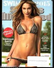 2015 Sports Illustrated Swimsuit HANNAH DAVIS America the Beautiful Subs. Issue