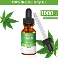 5000mg Hemp Oil for Pain Relief Anxiety Sleep Anti Inflammatory Extract Drops
