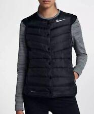 Nike AeroLoft Women's Golf Vest Gilet 856859-010 Black Size L RRP £130 New