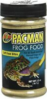 ZOO MED PACMAN FROG SOFT FOOD BITES 2 OZ PIXIE HORNED. FREE SHIPPING IN THE USA
