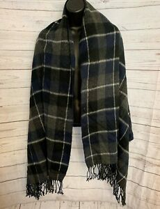 Jack /& Jones Mens DNA Soft Rib Knitted One Size Navy Blue Warm Winter Scarf