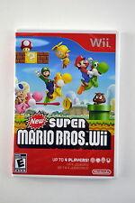 New Super Mario Bros Nintendo Wii  Brand New & Factory Sealed!