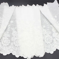 Wide Cotton Embroidery Lace Trims Fabric DIY Craft Pack of 1 Yard