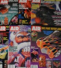 Airbrush Action 2002 Complete w/ 6 Back Issue Magazine