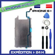 PLAQUE EN FER METAL CARTER ECRAN LCD IPHONE 6 PLUS + NAPPE BOUTON HOME