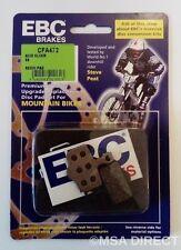Avid Elixir 1/3/5/7 / 9 EBC Resina Bicicleta de montaña Pastillas Frenos (CFA472