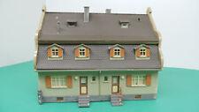 Gebäude Spur H0 Doppel Wohnhaus  GE325 Gebauter Bausatz Gebraucht