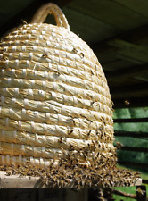 Straw Bee Skep, Traditional bee skep basket height 47 cm/18,5inch