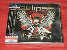 2018 ECLIPSE Bleed And Scream with Bonus Tracks  (Tour Edition) JAPAN SHM CD