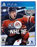 NHL 18 (Sony PlayStation 4, 2017)