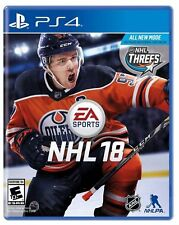 ps4 NHL18 Video Game Sony PlayStation 4 Hockey NHL 2018