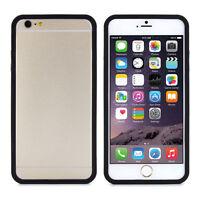 For iPhone 6 Plus, 6S Plus, 7 Plus Black RIM Bumper Cover Slimline by Proporta
