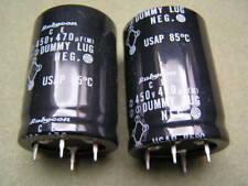 Rubycon Electrolytic Capacitor 450V 470uF 85'C 2 pieces OL0619