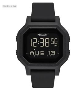 NIXON 38 mm Siren Watch All Black