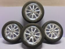 "White Polished Alloy Wheels Used Winter 2055516 Tyres 16"" Ford Focus Mondeo"