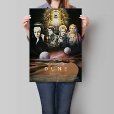 Dune Movie Poster 1984 Classic David Lynch Art Print A2 A3