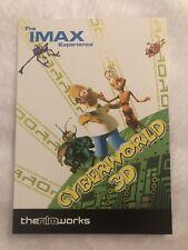 The IMAX Experience Cyberworld 3D Simpsons Advertisement THefilmworks Postcard