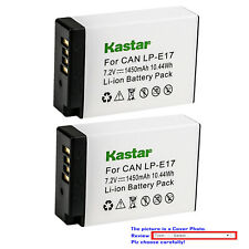 Kastar Replacement Battery Pack for Canon LPE17 EOS RP Mirrorless Digital Camera