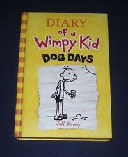 BOOK HC - Diary of Wimpy Kid - Dog Days  #4