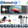 1 Din 4.1in Car Audio MP5 Player Bluetooth FM Radio USB AUX TF Card Head Unit