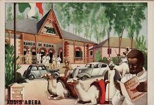 #COLONIE ADDIS ABEBA: LA SEDE DEL BANCO DI ROMA- dis. ROVERONI
