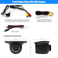 Mini Car CCD Front View Camera / Side view Camera Night Vision Waterproof 170°