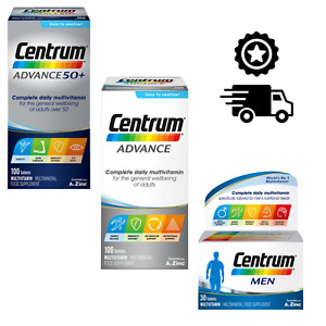 Centrum Advance/Men Multi-Vitamins Brand NEW