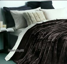 Charcoal 4KG Supersoft Thick QUEEN KING BED MINK Blanket / Bedspread Brand New
