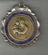 Religious Christianity Medal San Cayetano Enameled