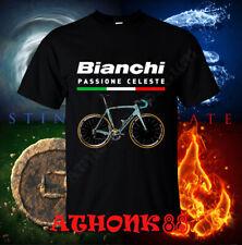 Men's shirt New Bianchi Passione Celeste Bicycle Roadbike t-shirt