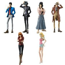 Lupin the Third Master Stars Piece Figures Complete Value Set of 6 New Ems F/S