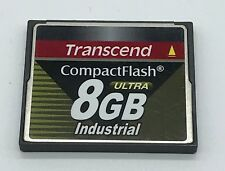 Transcend 8GB 50p CF 100x Industrial Grade Compact Flash Card TS8GCF100I