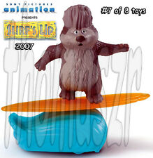 Reggie Spin 'n Surf figure/toy #7 - SURF's Up movie McDonald's/Sony (2007) *NIOP