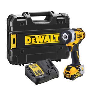"Dewalt DCF903P1 12V Brushless 3/8"" Impact Wrench 1 x 5.0Ah Battery Charger Case"