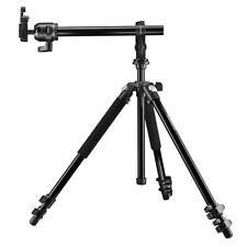 mantona Scout MAX Set Makrofotografie, Stativ mit Kugelkopf + Auslegearm