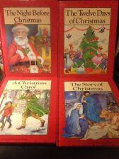 Set Of 4 Christmas Books 1991