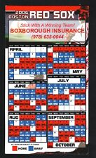 Boston Red Sox--2006 Magnet Schedule