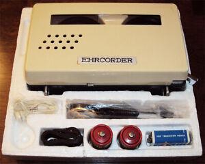 1960's Green Hornet Reel To Reel Tape Recorder Shown In TV Episodes