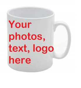 Mugs. Personalised Add Your Photos And Text. Gift Ideas For Birthdays Christmas