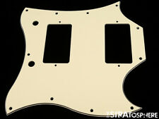 * NEW Vintage Cream PICKGUARD for USA Gibson SG Standard Guitar 3 Ply 11 Hole
