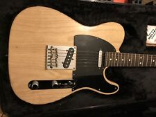 2012 Fender Telecaster USA Standard Natural Ash Custom Shop Pickups