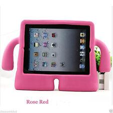 Rose Pink Soft 3D Kids Design Grip Case Shockproof Cover For Apple iPad 2/3/4 UK