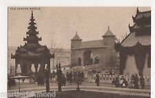 British Empire Exhibition, Old London Bridge Postcard, B505