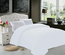 GOOSE DOWN ALTERNATIVE DOUBLE FILLED WHITE COMFORTER KING QUEEN FULLTWIN Size