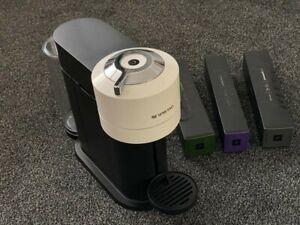 Nespresso Vertuo Next Coffee Machine in White With Pods