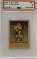 1951 1952 PARKHURST Walter Gus Kyle PSA 3 Very Good VG #21 HOCKEY Boston Bruins