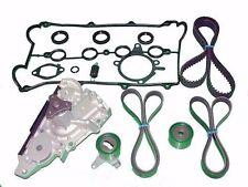 Timing Belt WATER PUMP TENSIONERS SEALS GASKETS Kit Mazda Miata  w/ ps & ac